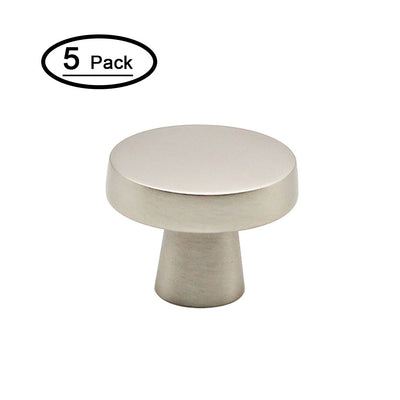 kitchen cabinets knobs rounded with cheap price(5 pack), 5310SNB