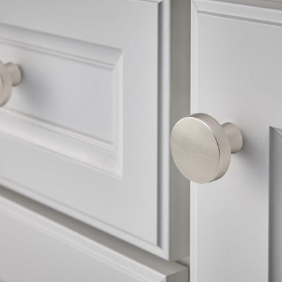 clear round knobs for kitchen cabinets (5310SNB)