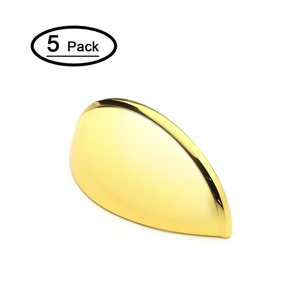 Gold Bin Cup Drawer Pulls 3 inch (5 pack), LS0313GD