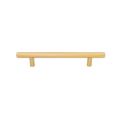 Gold Door Cabinet Handles Pull 6-1/4 inch(160mm), LS201GD160