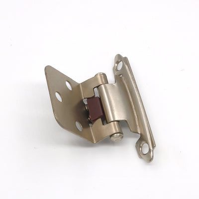 20 pairs cabinet hinges self closing brushed nickel (SCH30SNB )