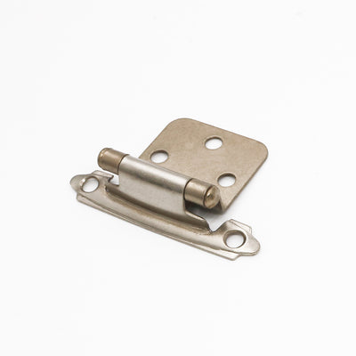 Self closing cabinet hinges full overlay satin nickel( 10 pairs), SCH30SNB