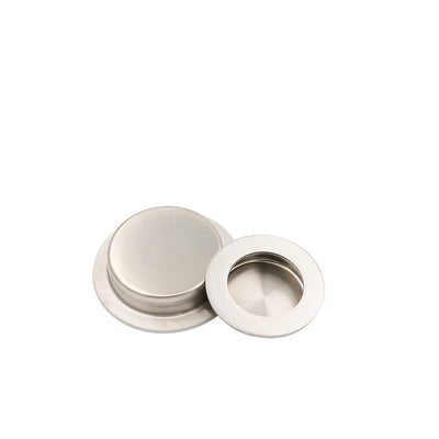 MC001 Round recessed flush pulls - Goldenwarm