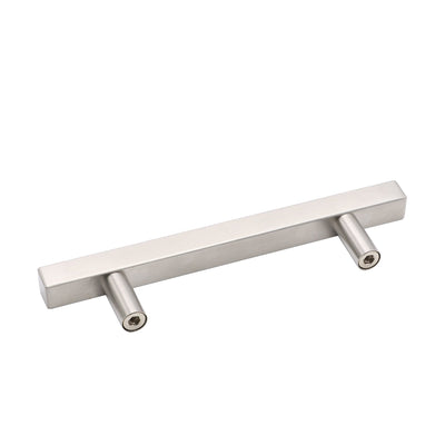 brushed nickel drawer handles and knobs 3-3/4 inches for kitchen, LSJ22BSS96