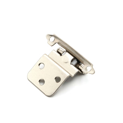 Satin Nickel 3/8'' Inset Cabinet Hinges(15 pairs), 38SNB