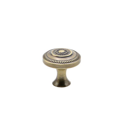 antique brass round bronze dresser knobs and pulls(0506AB) - Goldenwarm