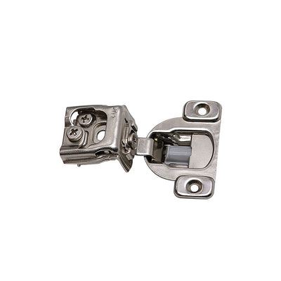 nickel plated surface mount door cabinet hinges (20 pack)