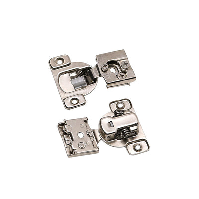 5 pack soft closing cabinet door hinges for kitchen,  1/2'' Overlay