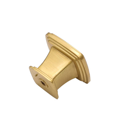 30 pack brushed gold kitchen knobs square, 1.2inch width(LS8791GD)