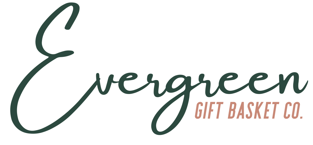 Evergreen Gift Basket Company Logo