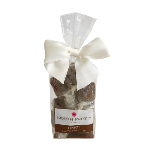 Mouth Party OMG Caramels Gift Bag Evergreen Gift Basket Co