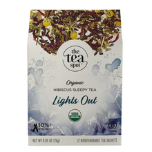 Load image into Gallery viewer, The Tea Spot Lights Out Tea Evergreen Gift Basket Co