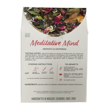 Load image into Gallery viewer, The Tea Spot Organic Meditative Mind Tea Evergreen Gift Basket Co