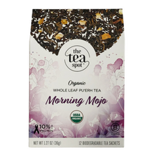 Load image into Gallery viewer, The Tea Spot Morning Mojo Organic Tea Evergreen Gift Basket Co