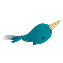 Load image into Gallery viewer, Elly Lu Norman the Narwhal Evergreen Gift Basket Co