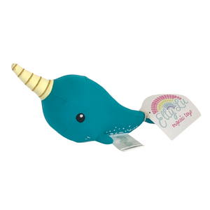 Elly Lu Norman the Narwhal Evergreen Gift Basket Co