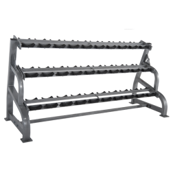 3 Tier Dumbbell rack w/saddles