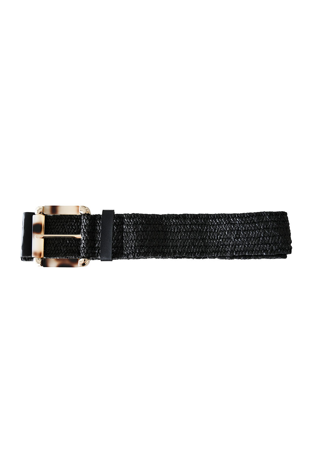Sardinia Square Belt Black - Kabana Shop