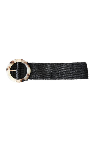 Sardinia Ring Belt Black - Kabana Shop
