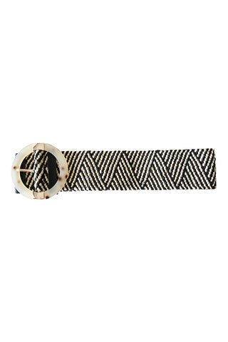 Sardinia Ring Belt Herringbone - Kabana Shop
