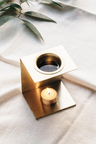 Addition Studio Brass Oil Burner - Kabana Shop