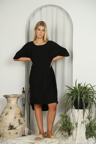 Alastor Dress Black - Kabana Shop