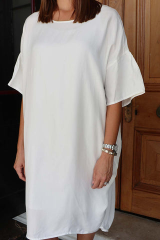 Alastor Dress White - Kabana Shop