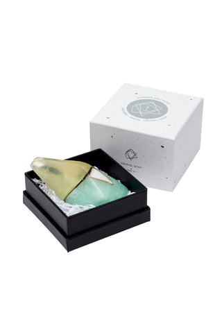 Summer Salt Crystal Soap Aqua - Kabana Shop