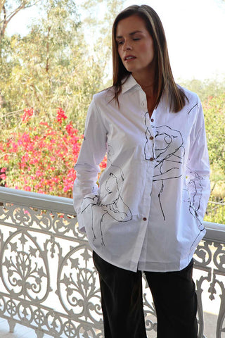 Arteaga Shirt White - Kabana Shop