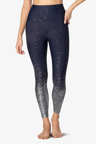 Beyond Alloy Ombre High Waisted Midi Legging - Nocturnal - Kabana Shop