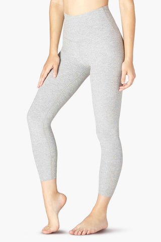 Spacedye High Waisted Midi Legging - Grey - Kabana Shop