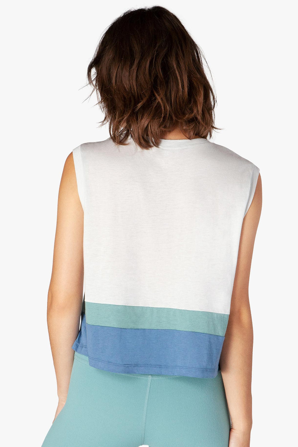 Vintage Pima Panel Crop Tank - Kabana Shop