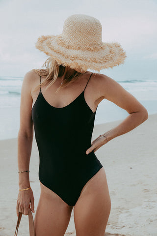 Black Classic One Piece - Kabana Shop