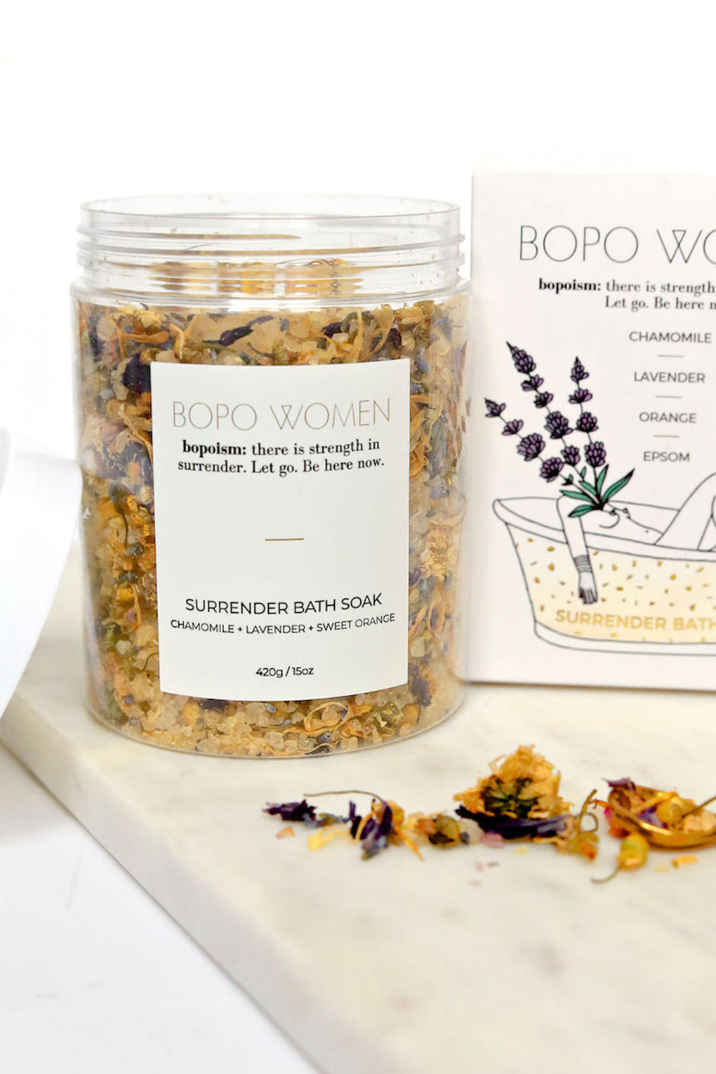 Bopo Women Surrender Soak-Chamomile - Kabana Shop