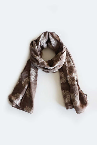 Daisy Scarf Chocolate - Kabana Shop