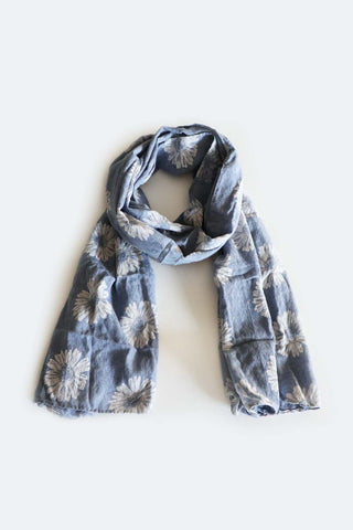 Daisy Scarf Denim - Kabana Shop