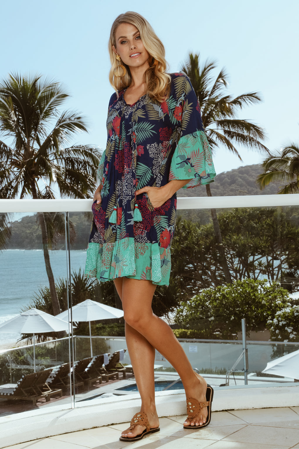 Diaz Dress Ocean - Kabana Shop