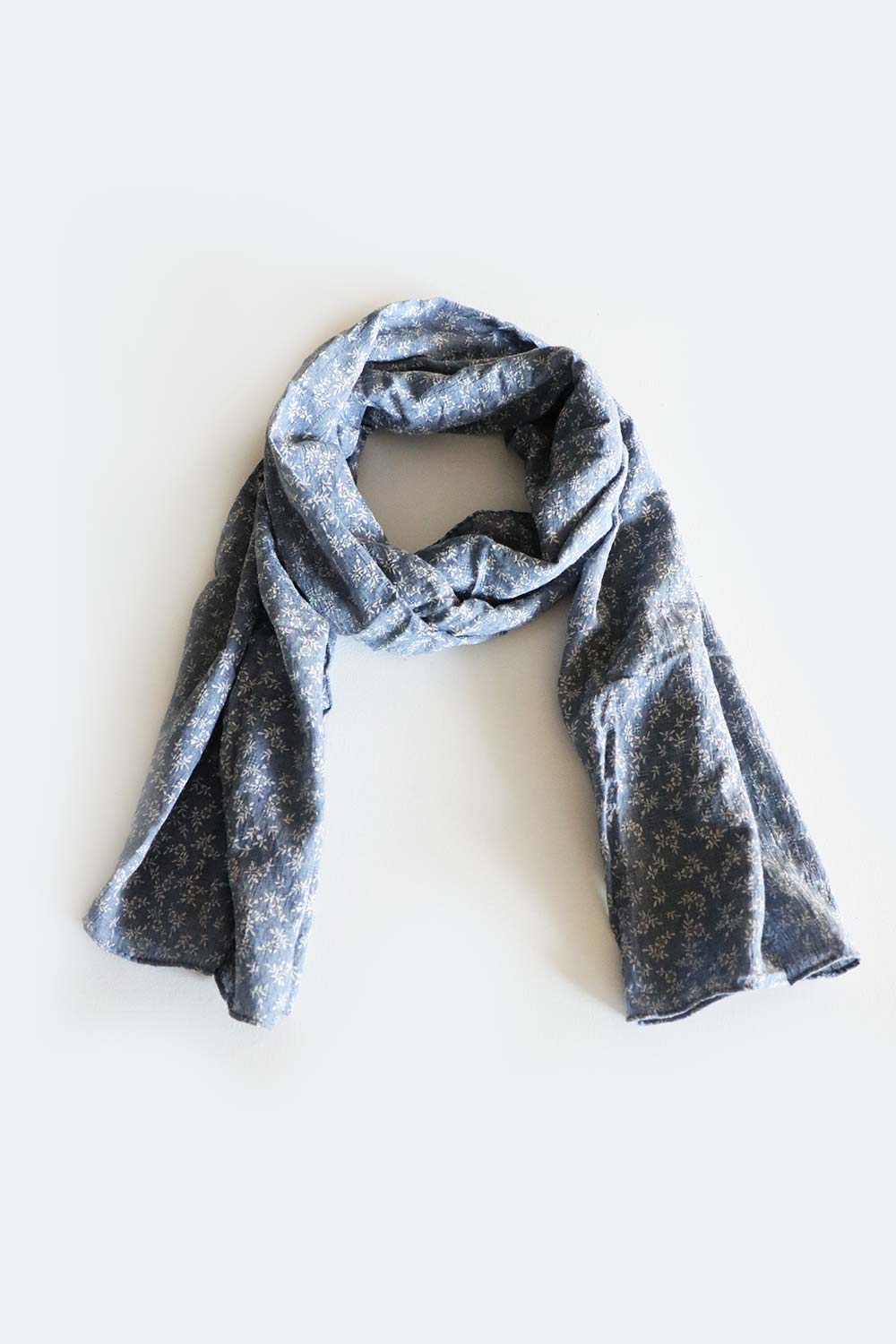 Flora Scarf Denim - Kabana Shop