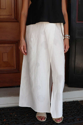 Heron Skirt White - Kabana Shop