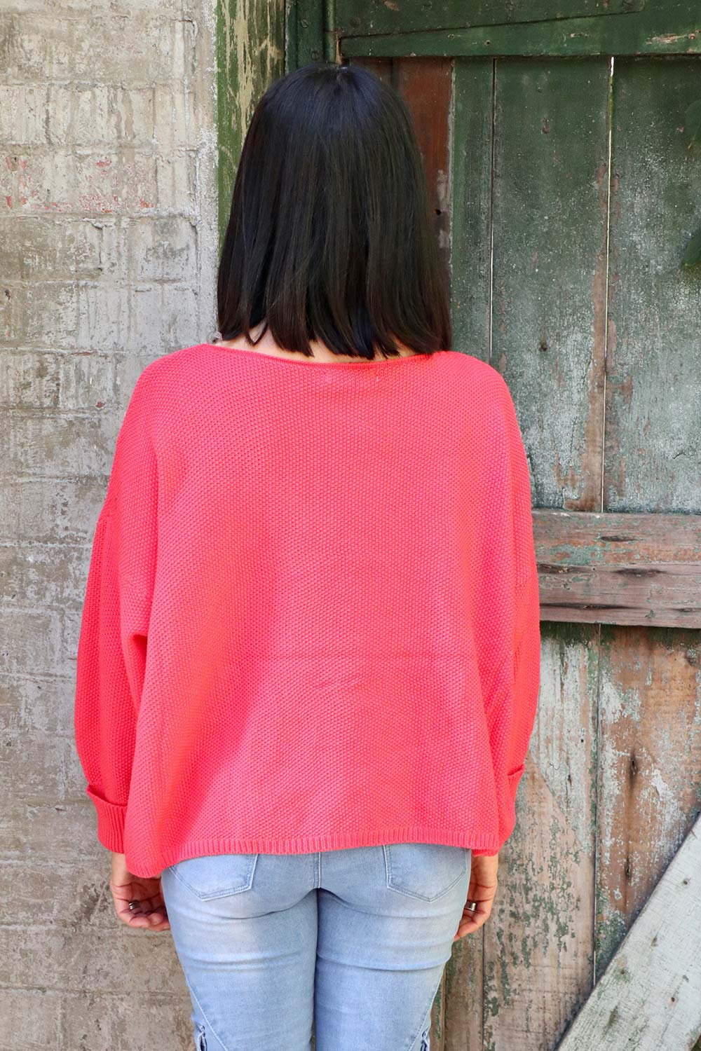 Lola Knit Melon - Kabana Shop