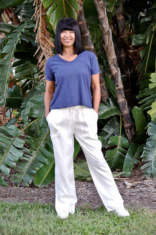 New La Mar Pant White - Kabana Shop