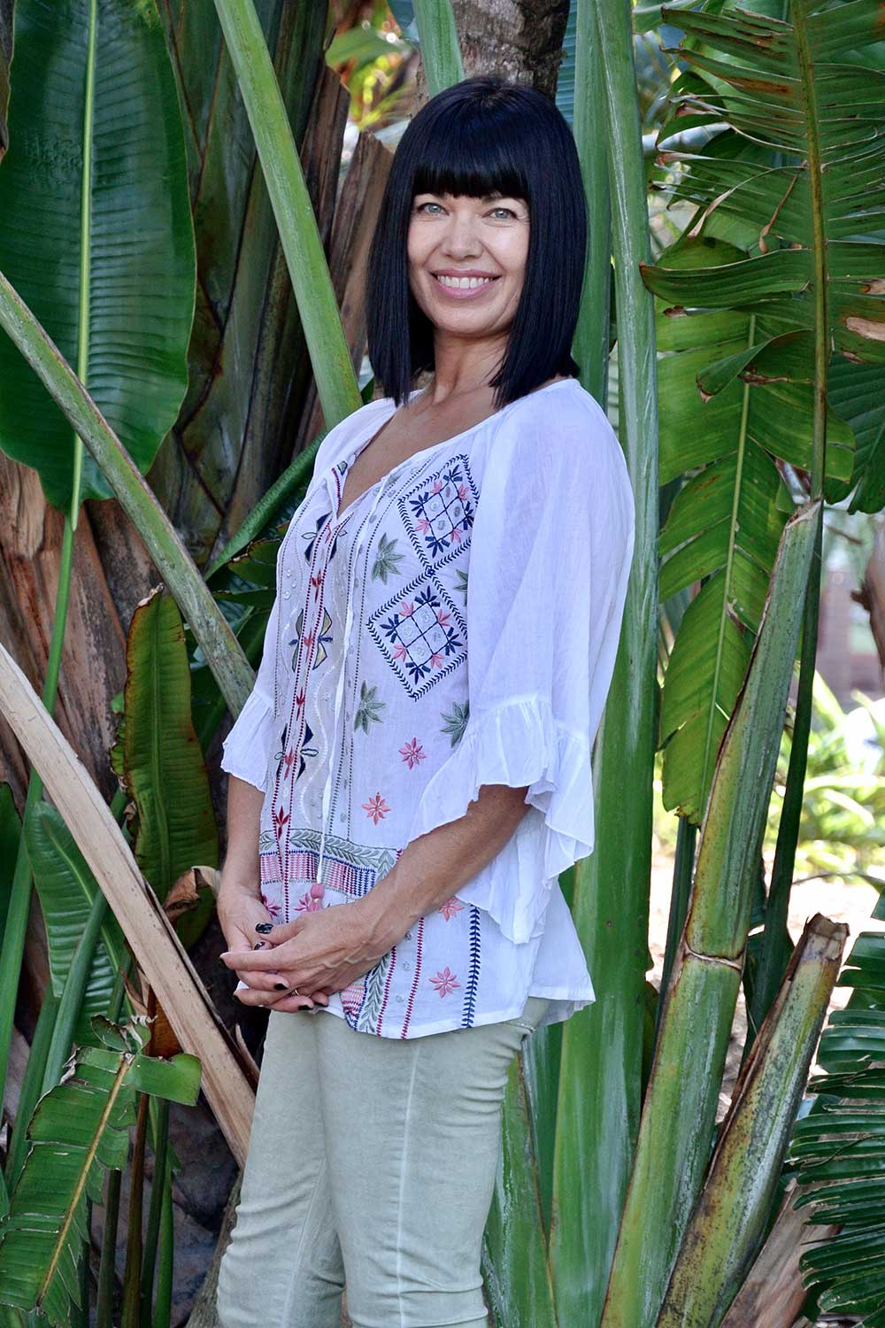 Lulasoul Liliana Top White - Kabana Shop