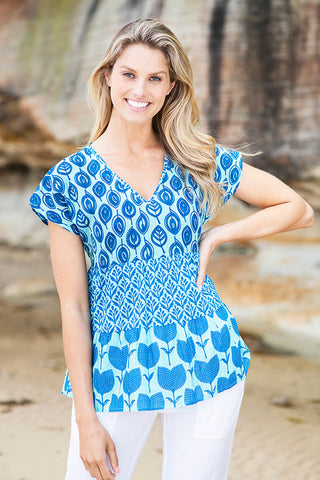 Valentina Top Ocean - Kabana Shop