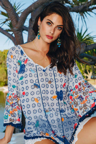 Lulasoul Aruba Top White - Kabana Shop