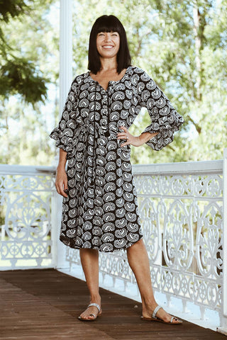 Elsie Dress Black - Kabana Shop