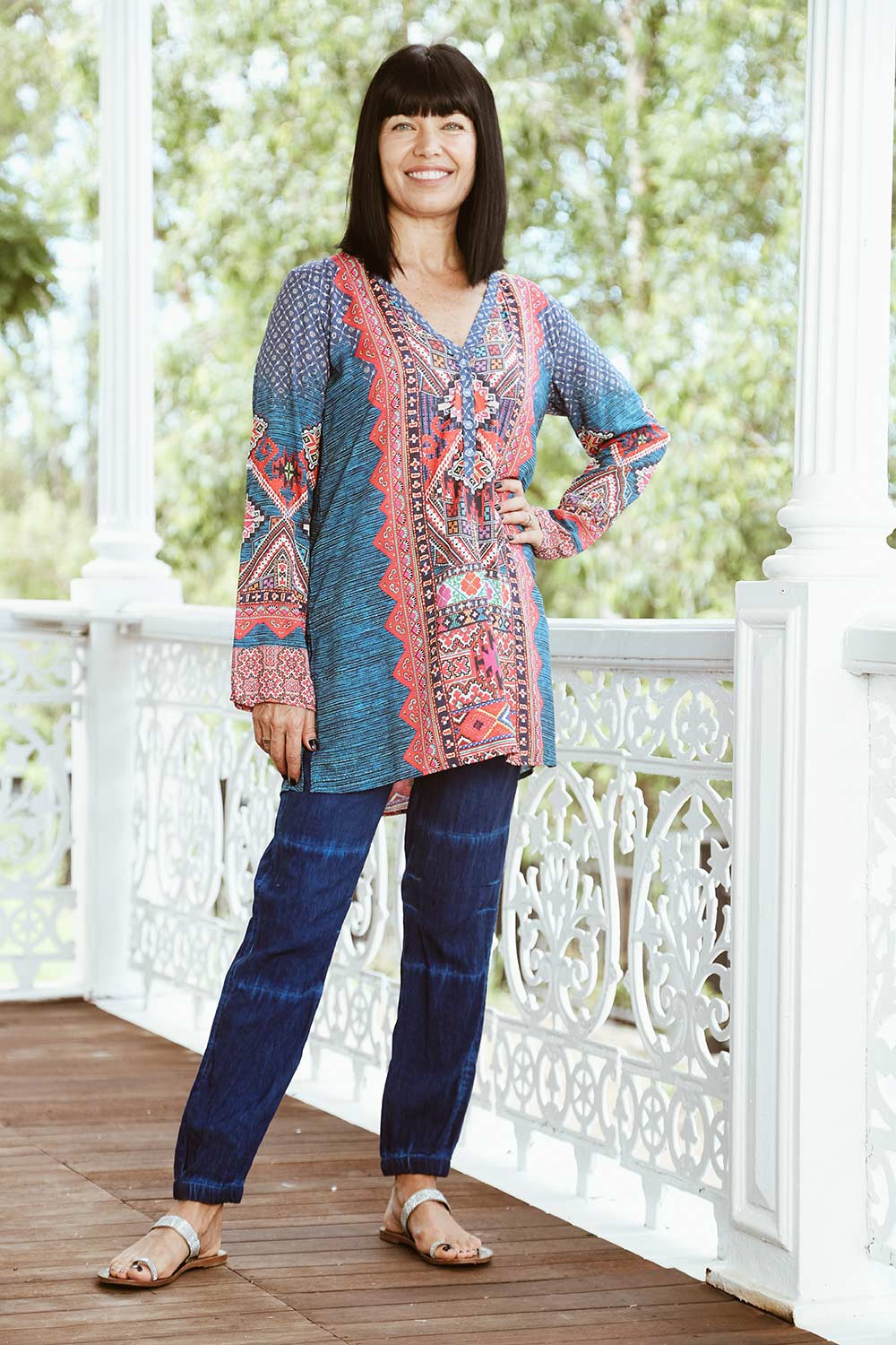 Loretta Tunic - Kabana Shop