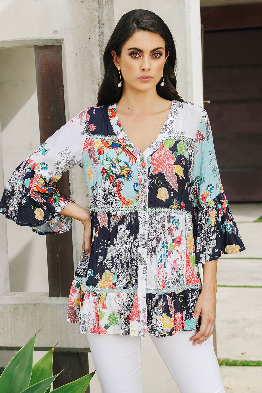 Polly Tunic - Kabana Shop