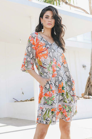 Shelby Dress Print - Kabana Shop