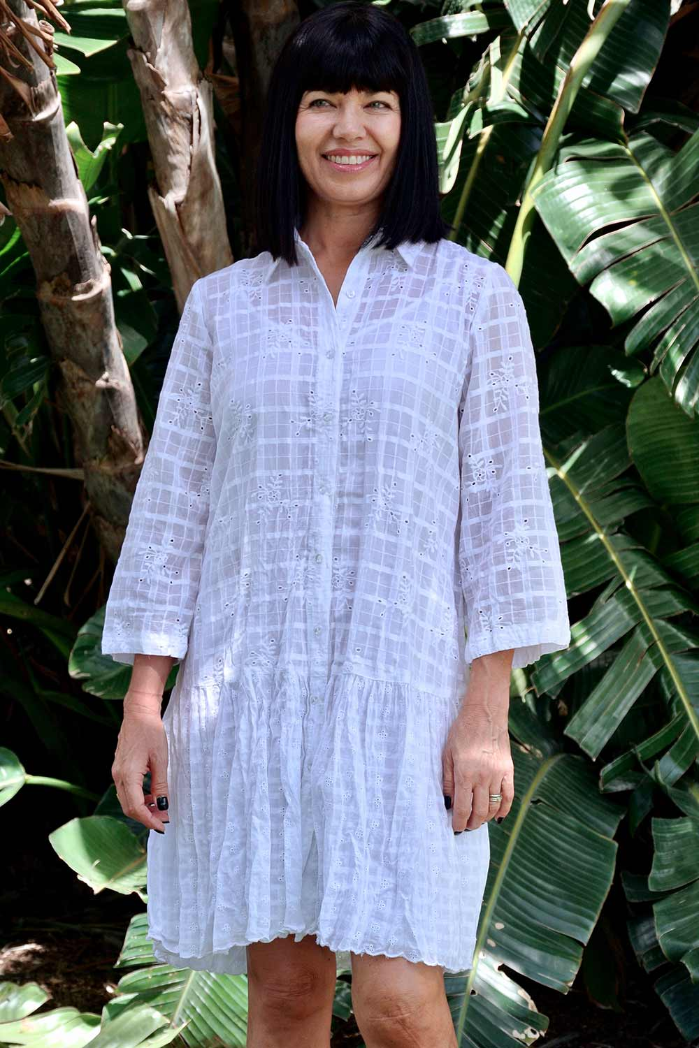 Syros Tunic White - Kabana Shop
