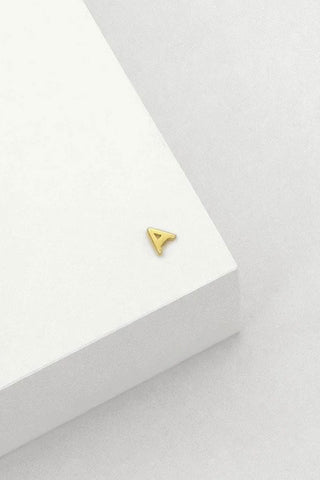 Initial Earring Gold - Kabana Shop